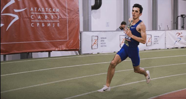 elzan bibić državni rekord na 5.000m