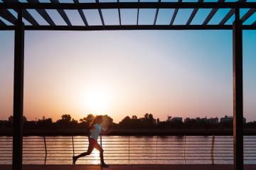 trčanje u toku leta