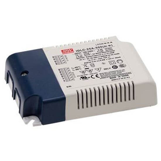 10v Push Led Dimmer Driver 25w 350ma To 700ma Short Circuit