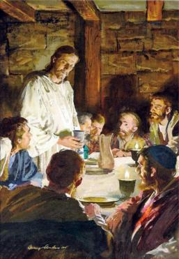 Image result for jesus and the last supper