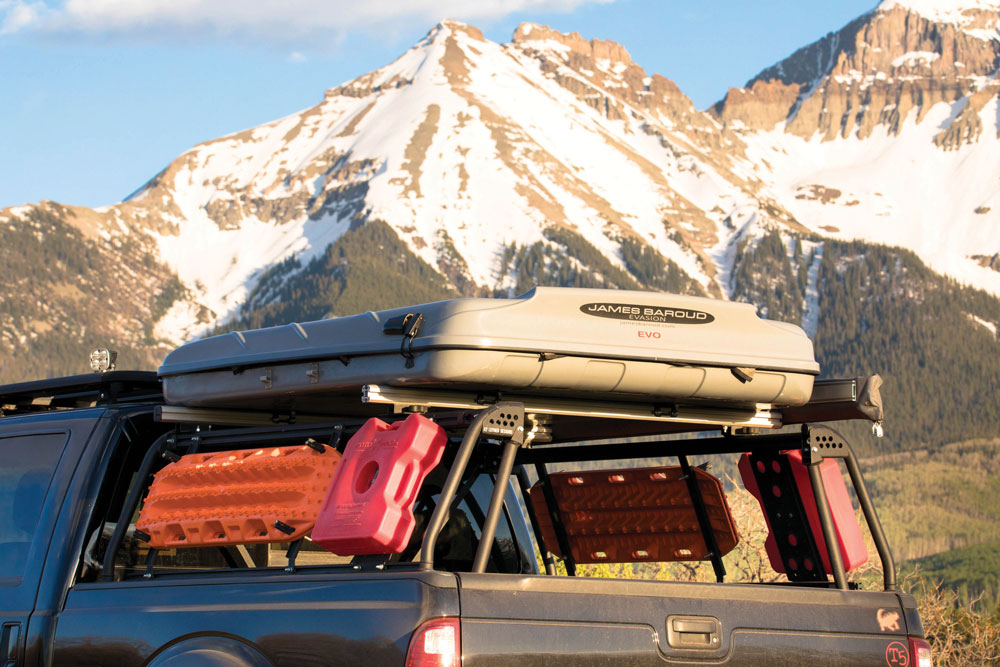a bed rack leitner designs active cargo system