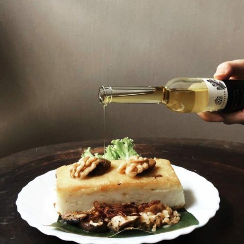 East meets West, Rice cake meets Truffle oil