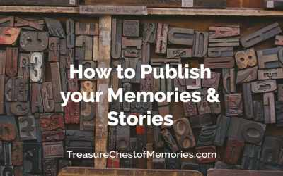 How to Publish your Memories and Stories