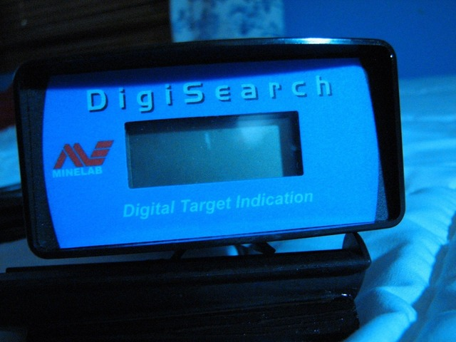 Minelab Sovereign digisearch 180 meter with mounting