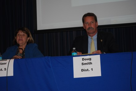 Doug Smith at the at the Martin County Commissioner Forum Debate April 2 2016