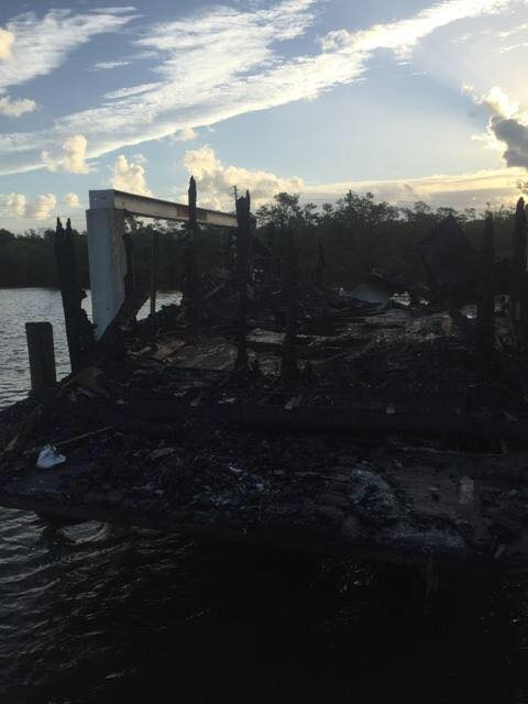 Martin County: Houseboat engulfed in flames