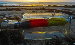 King Tide brings in Message in a Bottle