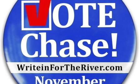 Write in for the River: Write in Chase Lurgio