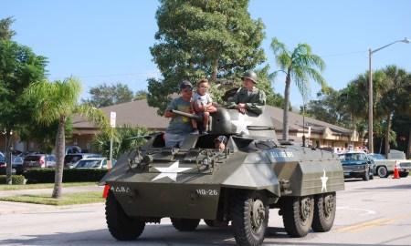 Veteran's Day Parade in Stuart