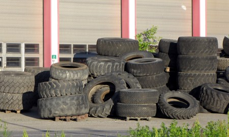 Bring your old tires in to help prevent Zika