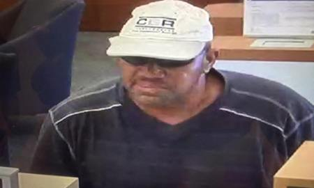 Vero Beach bank robber at large