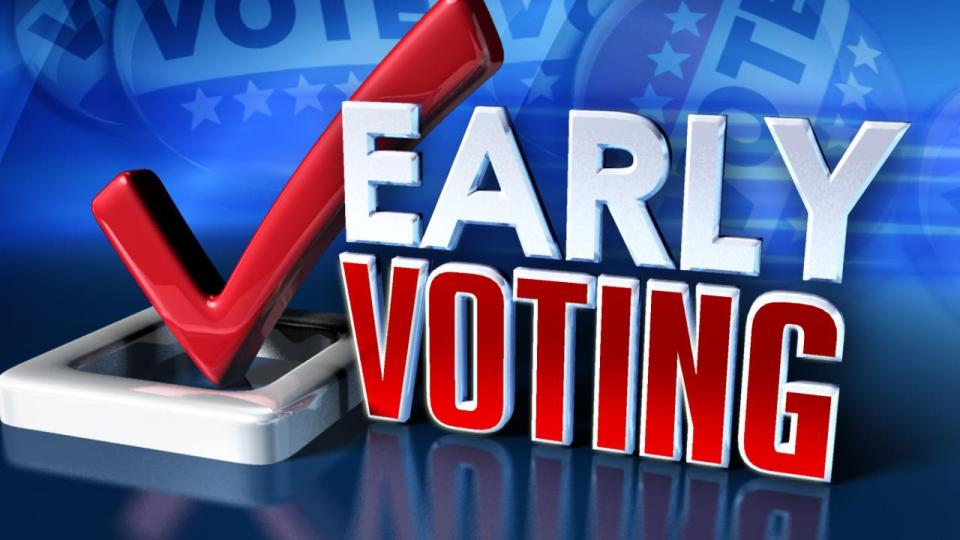 Last few days of early voting
