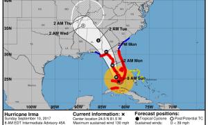 Hurricane Irma Update Sept 10 8 AM