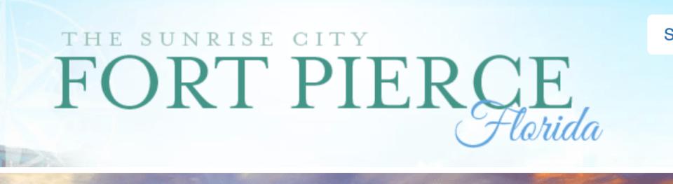 Post Hurricane Irma Advisory City of Ft Pierce