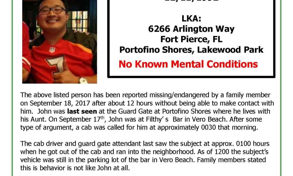 Body of missing man found in pond