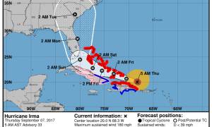 Hurricane Irma Morning Update Sept 7
