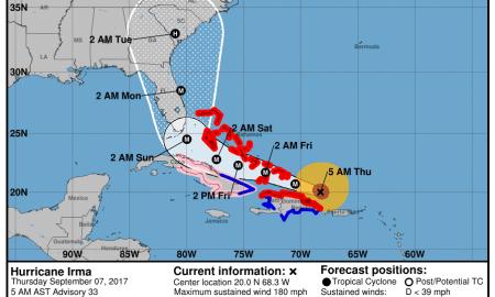 Hurricane Irma Morning Update Sept 7