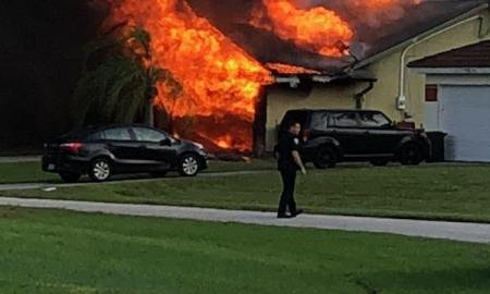 Attic Fire in Port St Lucie
