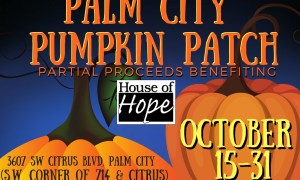 Pumpkin patch to raise funds for new production garden