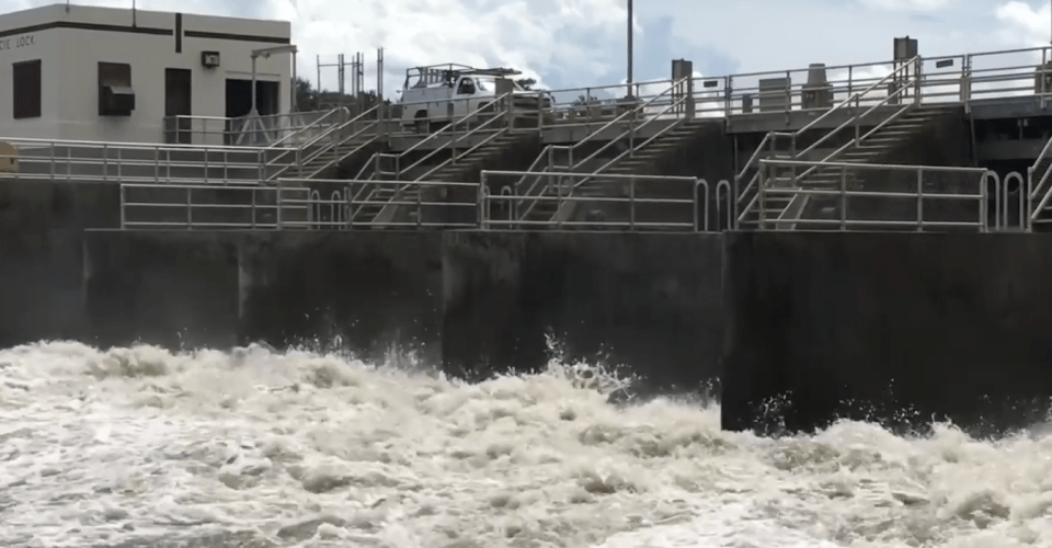 U.S. Army Corps of Engineers  will reduce flows from Lake Okeechobee