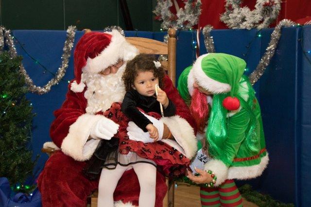 Santa Clause Visit