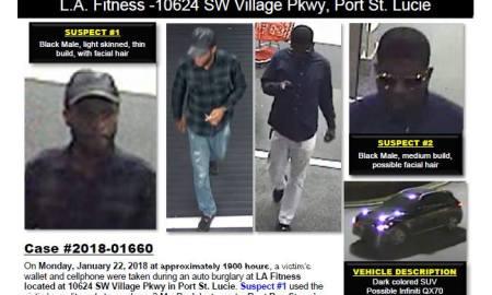 PSLPD seeks help to ID burglars/credit card fraud suspect