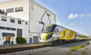 Brightline train hits and kills womanimage source: Brightline