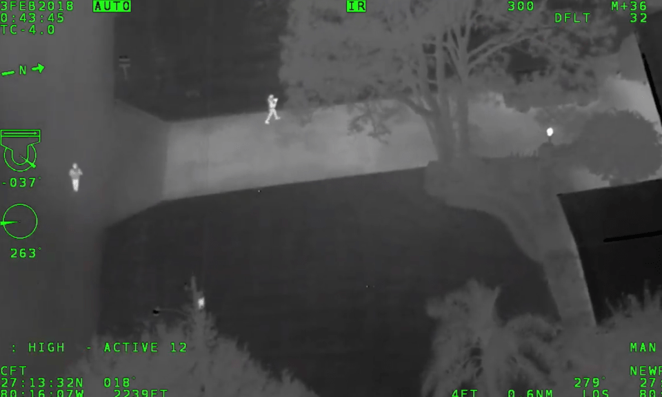 MCSO Deputies take 2 teen girls into custody after watching them try to burglarize cars from air