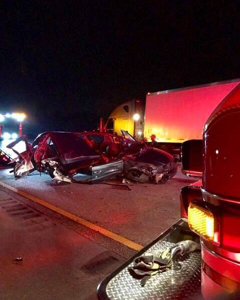Ft Pierce turnpike crash with serious injuries