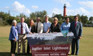 "Jupiter Inlet Lighthouse & Museum celebrates 10 years ""Outstanding Natural Area."""
