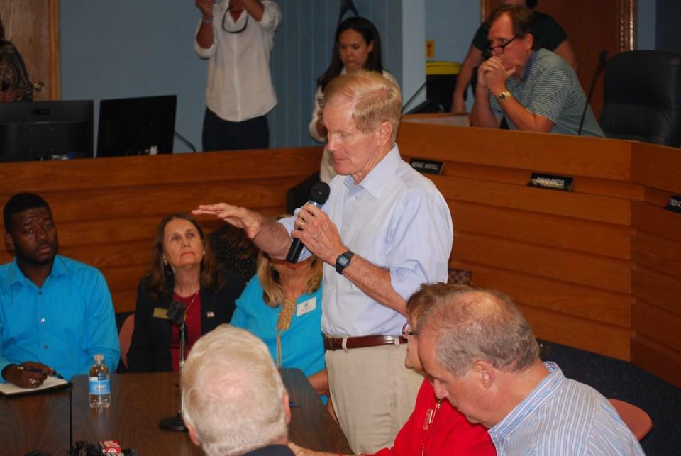 U.S. Sen. Bill Nelson faces upset community in Stuart