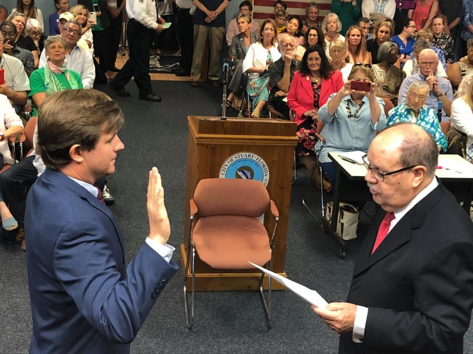 Stuart Commissioners Sworn In