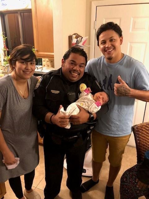 Fort Pierce Police Officer Saves Life Of Choking Infant
