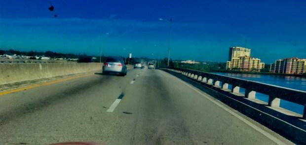 Driving into Palmetto