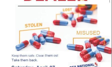 Indian River Sheriff hosts prescription take back