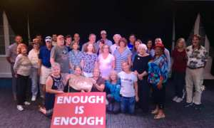 Mayor Becky Bruner and City of Stuart Environmental Advocacy Celebration