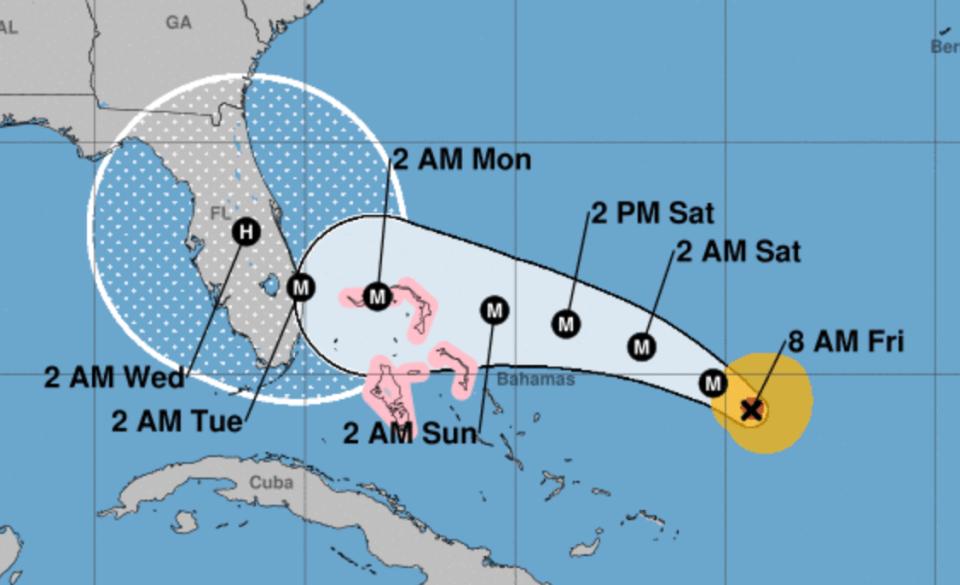 Hurricane Dorian intensifies as it heads toward US