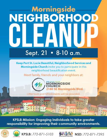Morningside Neighborhood Cleanup