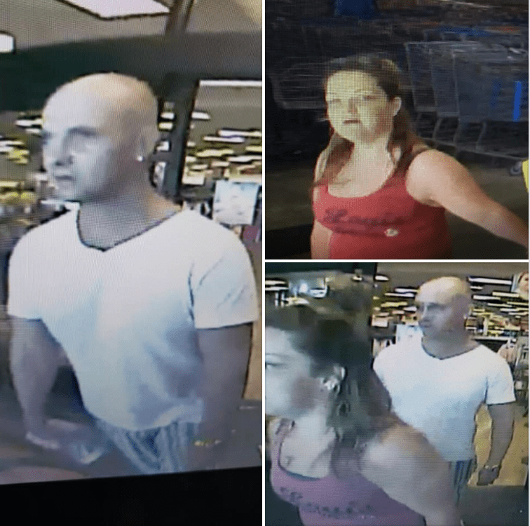 Stuart Police seeking to ID two individuals who stole a purse from a 62-year-old disabled female