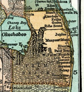 here is a map 1920 -- Source: Leslie's New World Atlas (New York, NY: Leslie-Judge Company, 1920) in Univ. of South Florida collection ---- which shows that there was more swamp land. alice Luckhardt, historian.