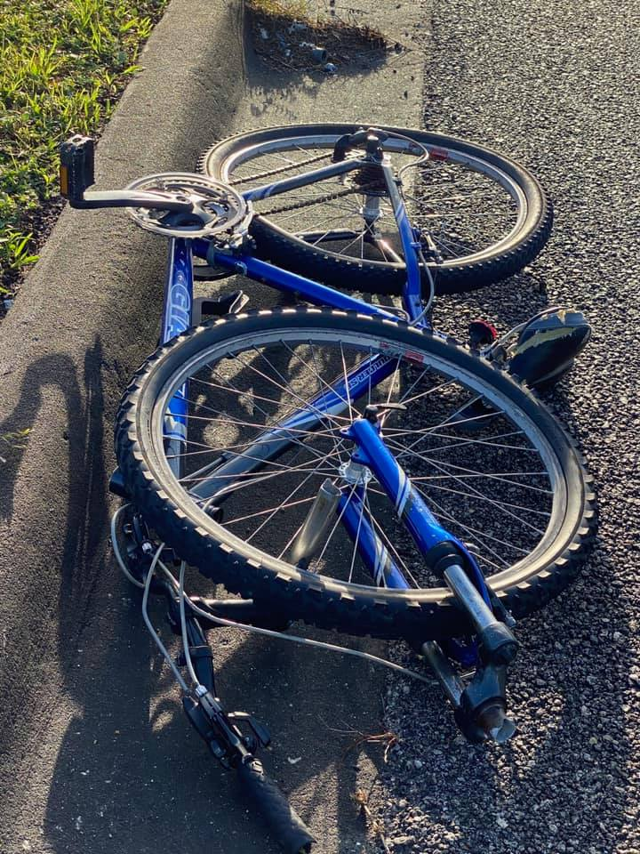 MOTORIST ARRESTED AFTER HIT AND RUN OF A 12-YEAR OLD BICYCLIST