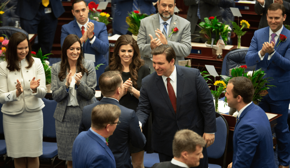 Governor Ron DeSantis Calls on Legislature to Seize the Moment, Deliver for the People of Florida in State of the State Address