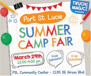 Port St. Lucie Summer Camp Fair