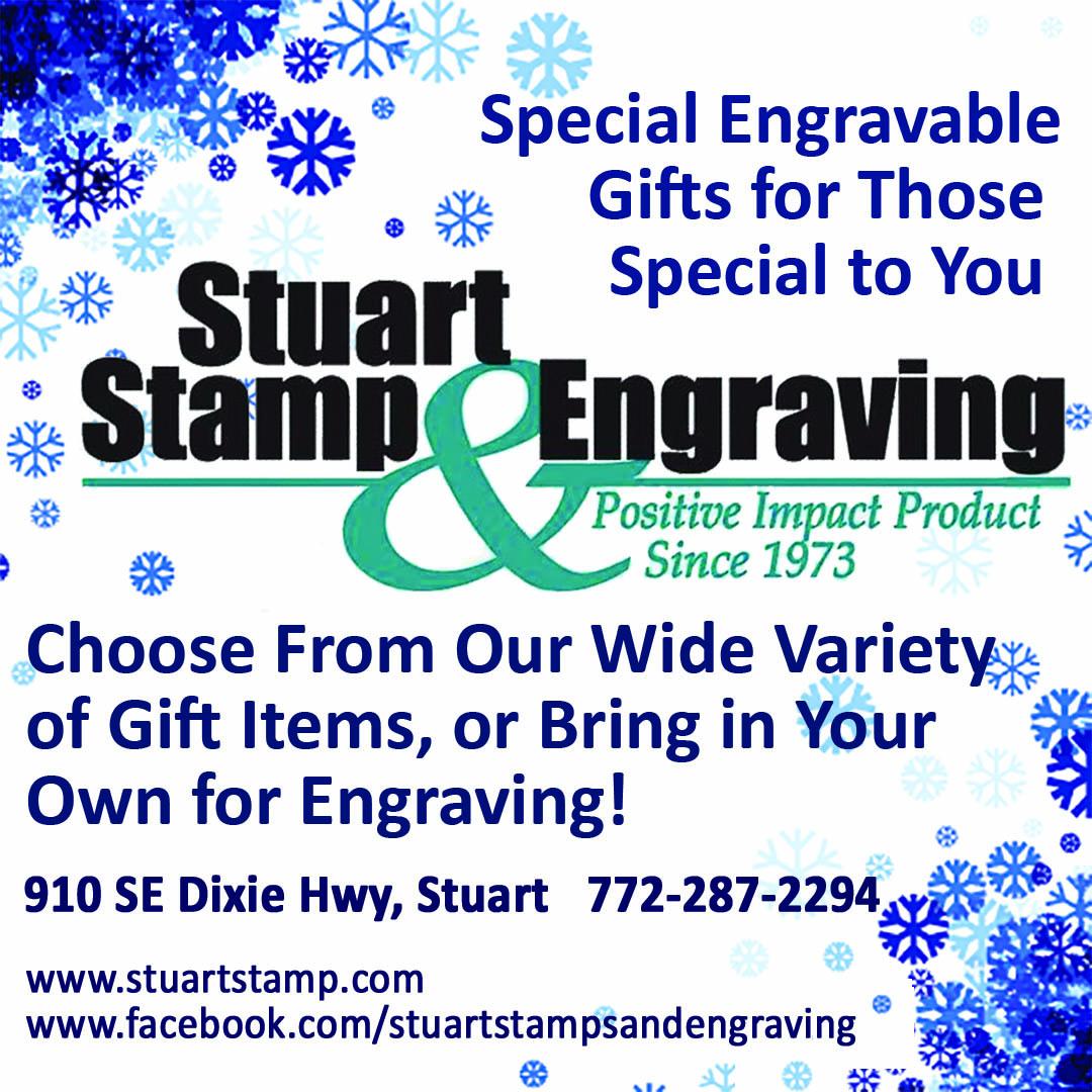 Stuart Stamp & Engraving Holiday