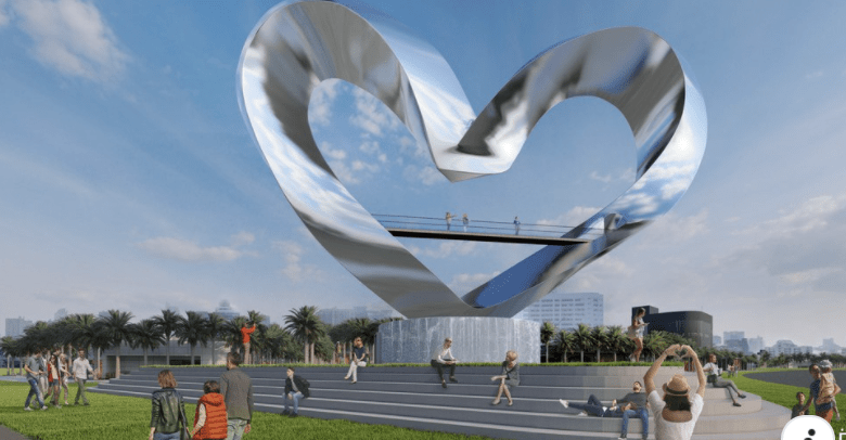 World's tallest heart sculpture coming to Tradition in Port St. Lucie
