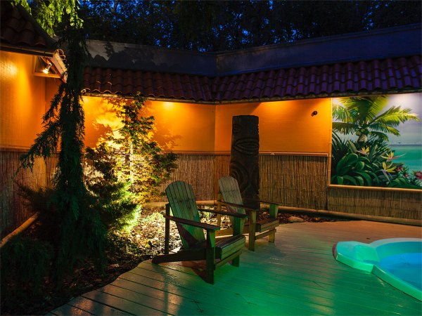Outdoor Lighting - Portfolio Of Landscape Design