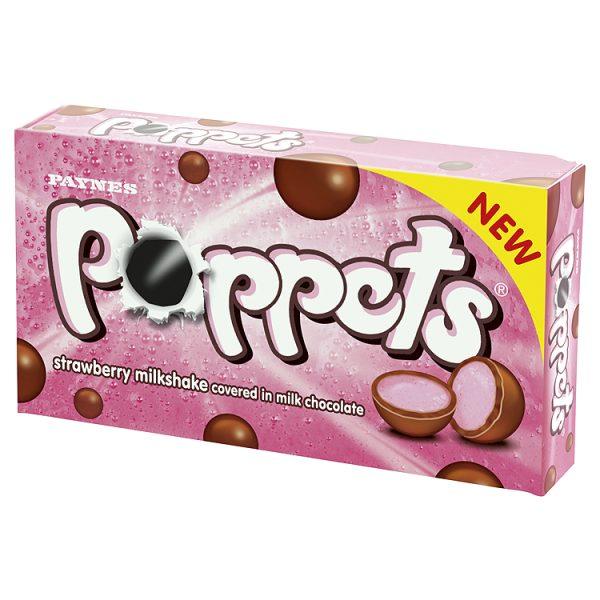 Poppets Strawberry Milkshake Paynes