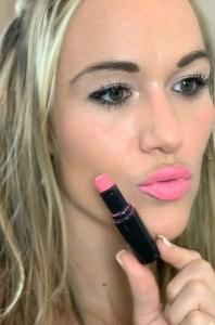 10 best spring lipsticks 2019, spring pink called think pink on blonde girl