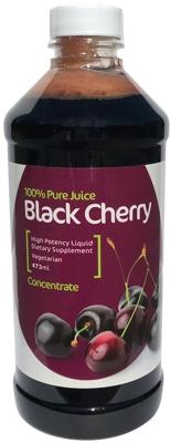Pure Black Cherry Concentrate Gout Migraine Arthritis