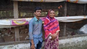 Khaleda and her 19yo son